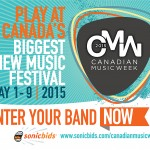 Play CMW 2015! Artist Submissions Now Open
