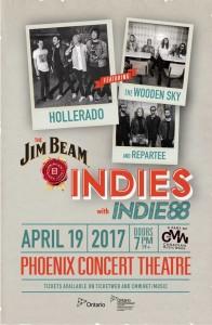 The Jim Beam Indies w/ Indie88 Performers Announced!
