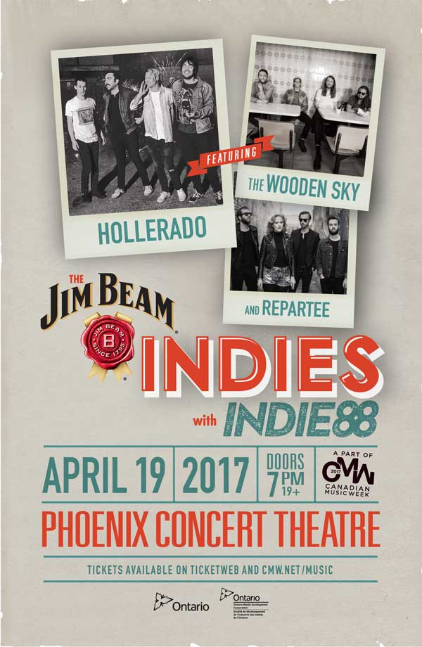 The Jim Beam Indies w/ Indie88 Performers Announced!