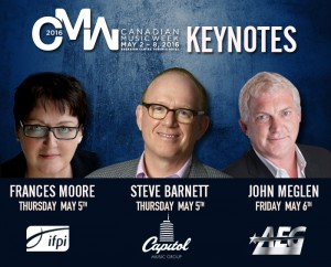 Canadian Music Week Confirms Capitol, AEG, IFPA Keynotes