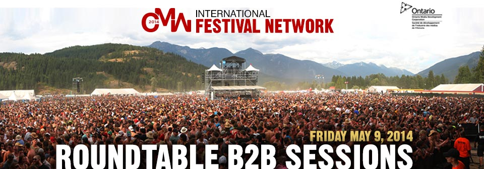 Ifn roundtable b2b sessions 2014 2018 canadian music week may 7 13 here is your opportunity to meet some of the worlds top festivals and concert promoters talent buyers from across the globe from haldern pop germany to malvernweather Images