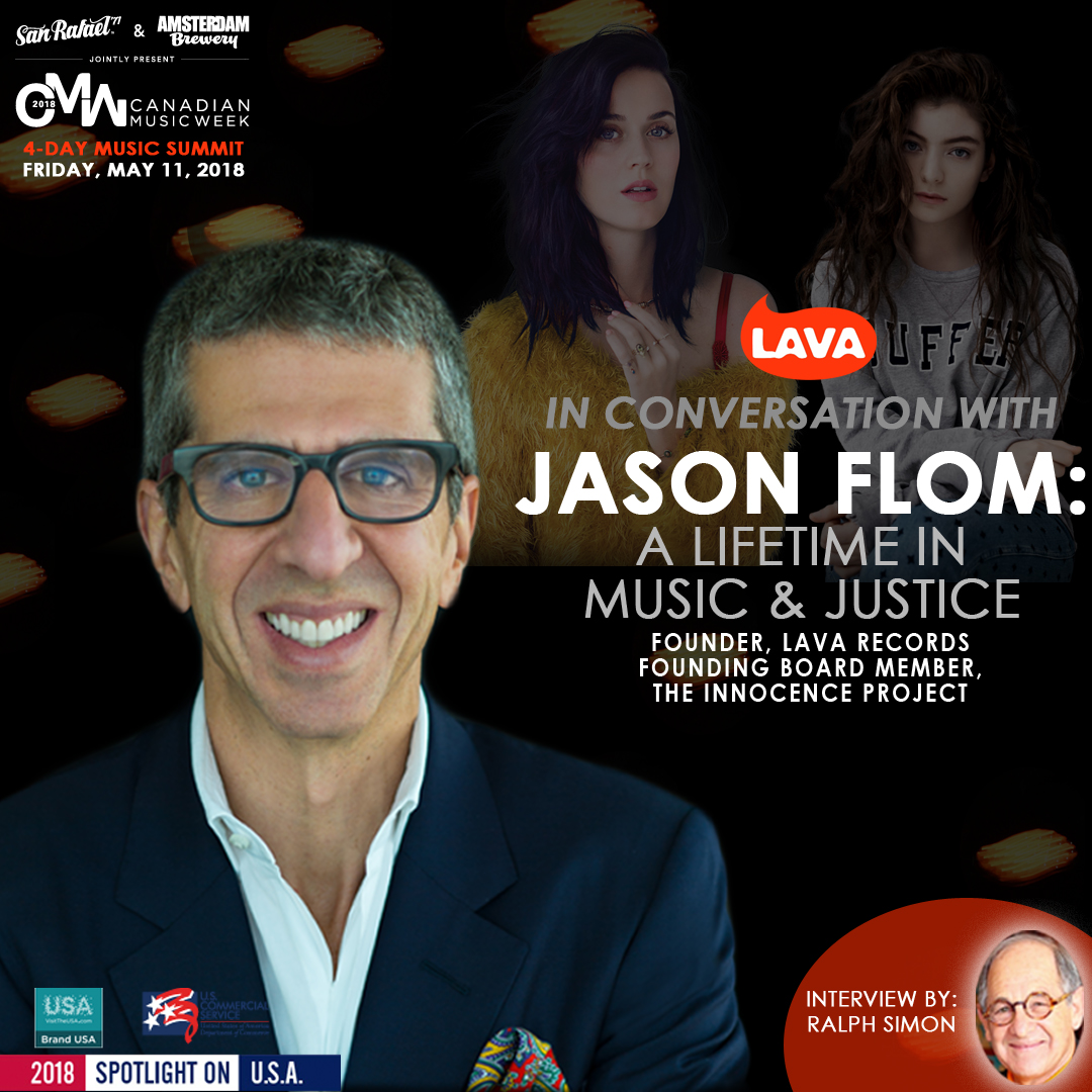 IN CONVERSATION WITH… JASON FLOM: A LIFETIME IN MUSIC & JUSTICE