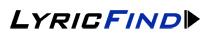 Logo Lyricfind LR