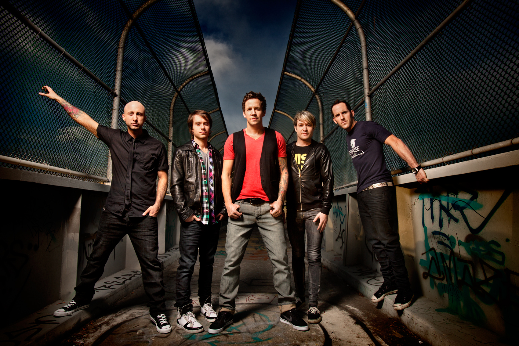 SIMPLE PLAN TO BE HONORED WITH THE ALLAN SLAIGHT HUMANITARIAN SPIRIT ...