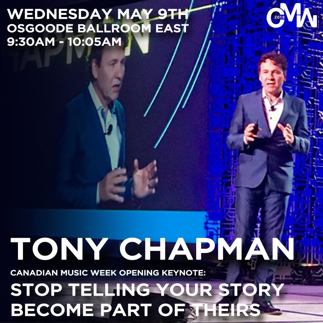OPENING KEYNOTE Stop Telling Your Story – Become Part of Theirs