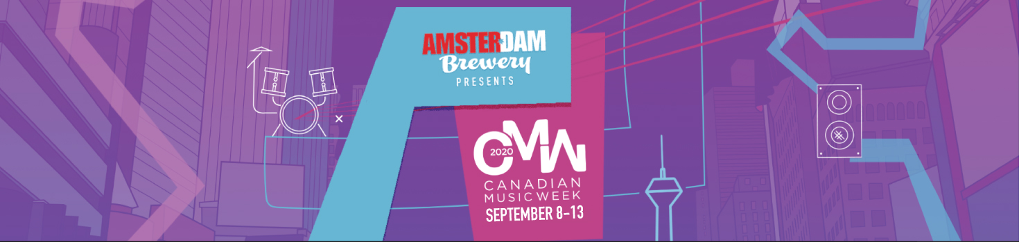2020 Canadian Music Week logo