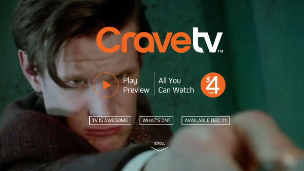 Bell Media's Video Streaming Service Launches as CraveTV