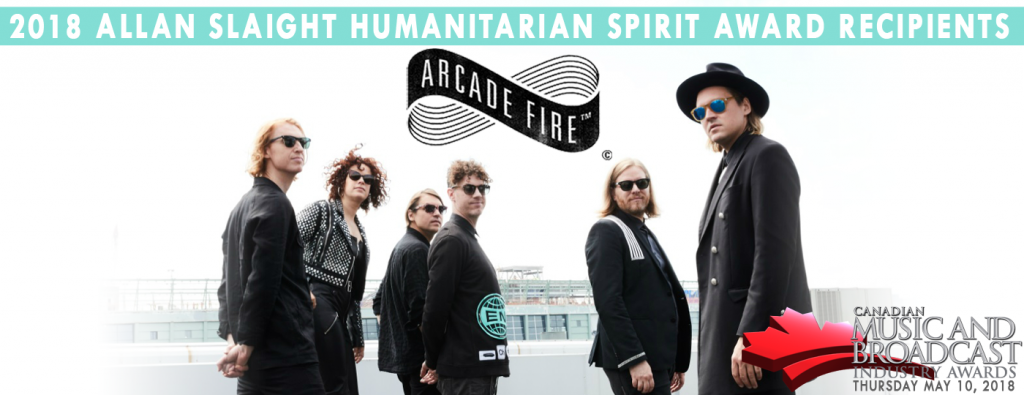 Arcade Fire Tour Dates 2020 ARCADE FIRE ANNOUNCED AS THE 2018 RECIPIENT OF THE ALLAN SLAIGHT