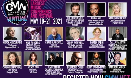 Initial speakers unveiled as Canadian Music Week goes virtual