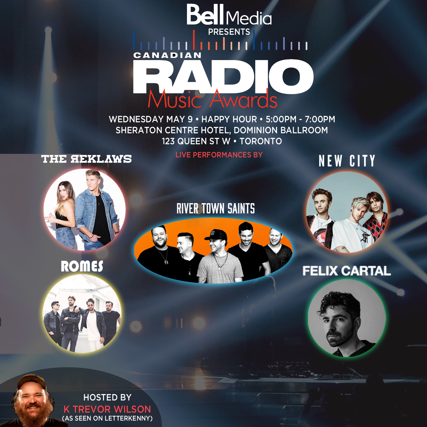 Canadian Radio Music Awards Performers Announced