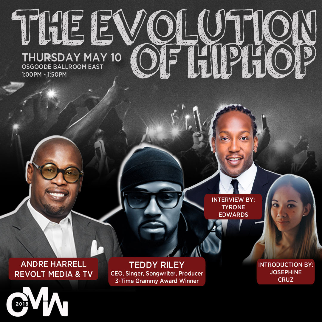 IN CONVERSATION WITH Andre Harrell and Teddy Riley The Evolution of HipHop