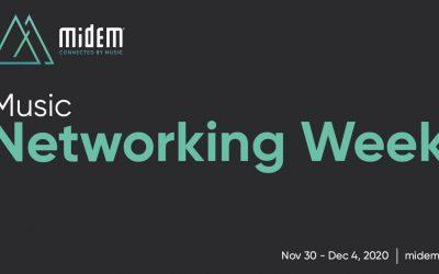 Midem Launches Midem Music Networking Week: November 30 – December 4