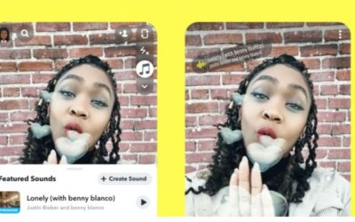 Snapchat Launches Music Feature To Rival Tiktok