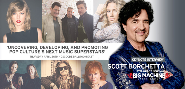 Uncovering, Developing, and Promoting Pop Culture's Next Music Superstars – A Keynote from Scott Borchetta of Big Machine Label Group at #CMW2017